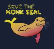 Save the Monk Seal One Piece - Short Sleeve