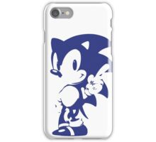 Minimalist Sonic 9 iPhone Case/Skin