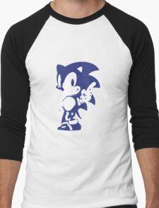 Minimalist Sonic 9 Men's Baseball ¾ T-Shirt