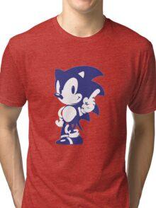 Minimalist Sonic 9 Tri-blend T-Shirt