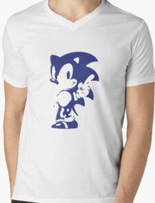 Minimalist Sonic 9 Mens V-Neck T-Shirt
