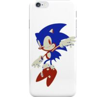 Minimalist Sonic 8 iPhone Case/Skin