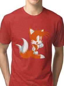 Minimalist Tails 2 Tri-blend T-Shirt