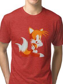Minimalist Tails Tri-blend T-Shirt