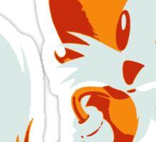 Minimalist Tails Sticker