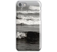 The waves shows the mood of the sea iPhone Case/Skin