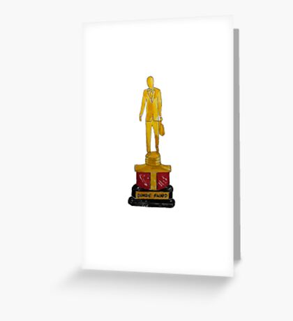 The Dundie Award Greeting Card