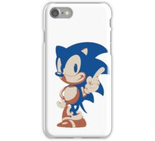 Minimalist Sonic 4 iPhone Case/Skin