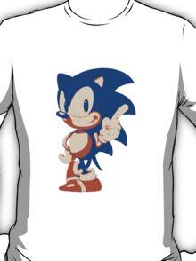 Minimalist Sonic 4 T-Shirt