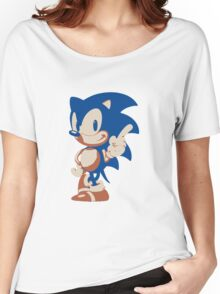 Minimalist Sonic 4 Women's Relaxed Fit T-Shirt