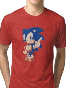 Minimalist Sonic 4 Tri-blend T-Shirt