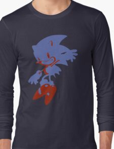 Minimalist Sonic 3 Long Sleeve T-Shirt