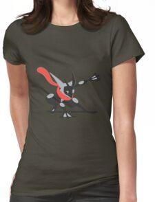 Minimalist Shiny Greninja Womens Fitted T-Shirt