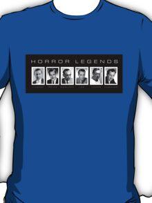 Horror Screen Legends T-Shirt