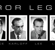 Horror Screen Legends Sticker