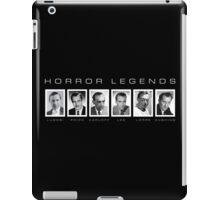Horror Screen Legends iPad Case/Skin