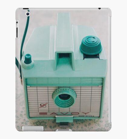 Mint Green Savoy iPad Case/Skin