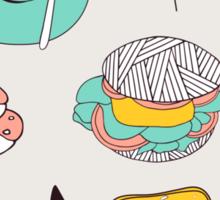Yummy food  Sticker