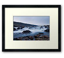 Salmon River in Kjos #1 Framed Print