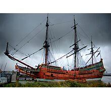 The Batavia - HDR Photographic Print