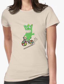 Critter Bike  Womens Fitted T-Shirt