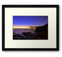 North Beach Jetty At Dusk  Framed Print