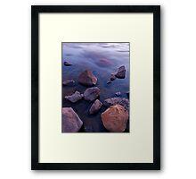 Sunset at Red Lake #2 Framed Print