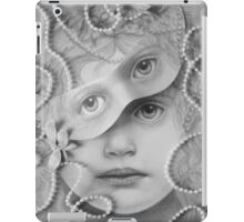 Mon Ange Pearled Assemblage iPad Case/Skin