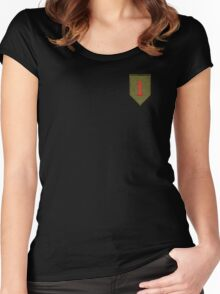 Big Red One - 1st Infantry Division Women's Fitted Scoop T-Shirt