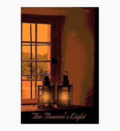 ~ The Beacon's Light ~ Photographic Print