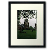 Evesham Abbey Framed Print