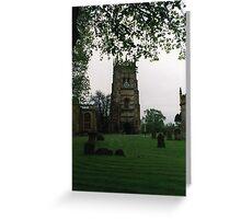 Evesham Abbey Greeting Card