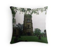 Evesham Abbey Throw Pillow