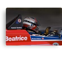 Racing passion Canvas Print