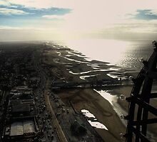 Skyline view fro Blackpool Tower by Fred Arrowsmith