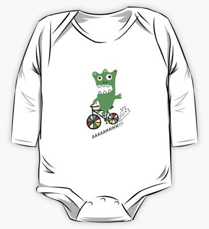 Critter Bike  One Piece - Long Sleeve