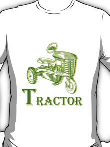 T is for Tractor T-Shirt