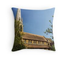 The New St Peter and St Paul Anglican Parish Church Throw Pillow