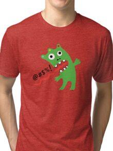Critter Expletive  Tri-blend T-Shirt
