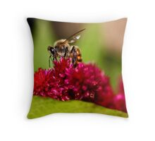 Bee Utiful Throw Pillow
