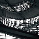 SFGH Parking Garage Stairs 1 by Tama Blough