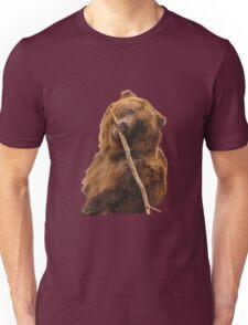 Grizzly Bear Cute Unisex T-Shirt