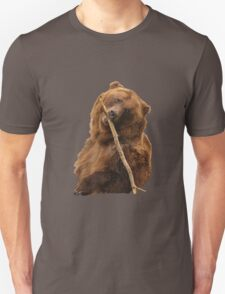 Grizzly Bear Cute Unisex T-Shirt