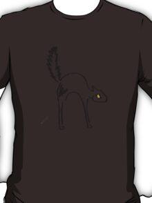 Lone Black Cat T-Shirt