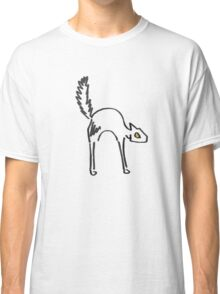 Lone Black Cat Classic T-Shirt