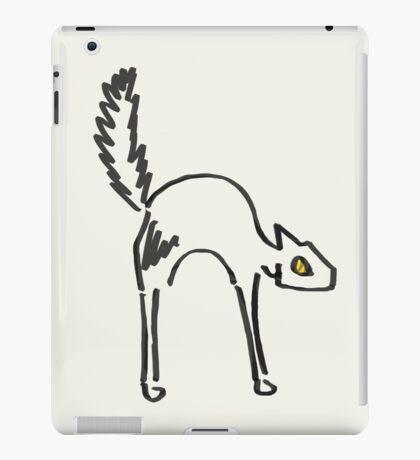 Lone Black Cat iPad Case/Skin