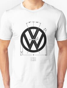 Volkswagen Logo Angles T-Shirt