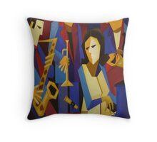 ANDREA KELLER QUARTET Throw Pillow