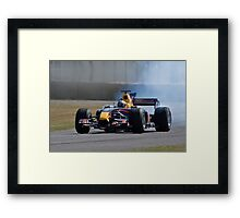 Smokin Framed Print