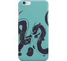 Cat dragons need to play with mice too iPhone Case/Skin